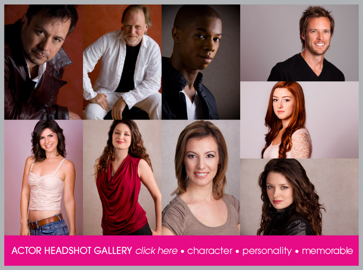 Actor Portfolio Photography Perfect for Casting Calls