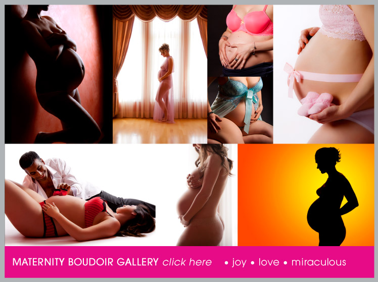 Maternity Boudoir Photography