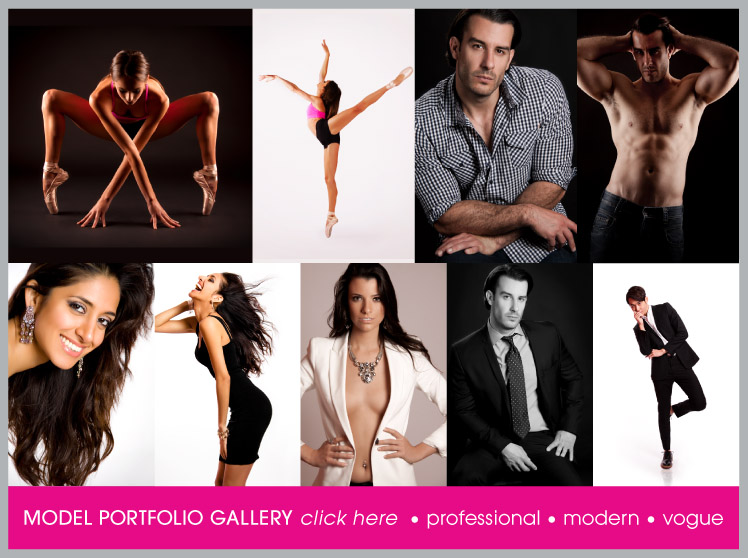 Model Portfolio Photography Great for Agency's